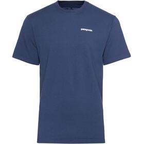 Patagonia P-6 Logo Shortsleeve Shirt Men blue